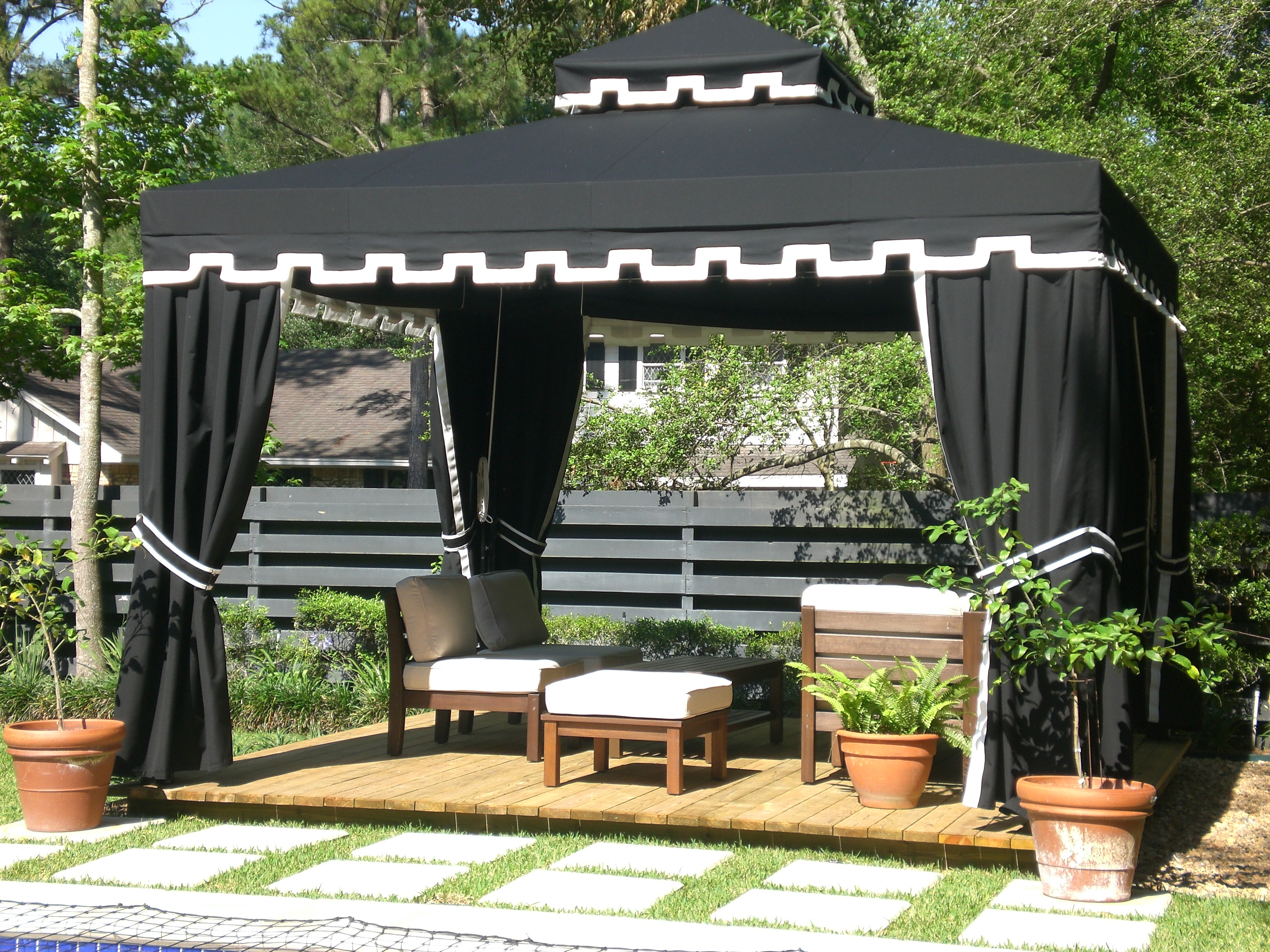 Custom products - Gazebo ideas for backyard ...